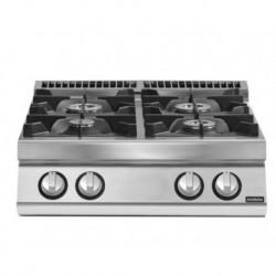 Cocina gas 4 fuegos versión top
