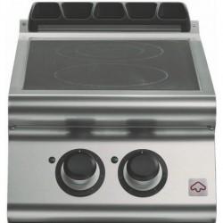 Cocina a inducción 2 zonas de cocción Ø 280