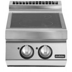 Cocinas vitrocerámicas versión top 2 zonas de cocción