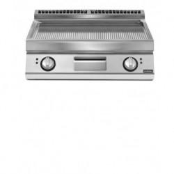 Fry top eléctrico plancha ondulada versión top  10,8 kW Total