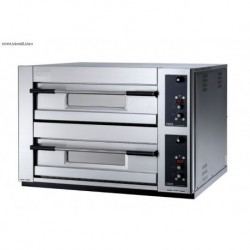 HORNO DE PIZZA ELECTRICO MULTIFUNCION BAKER DIGITAL OEM 2 CAMARAS 63X93 MODELO MB2TSD
